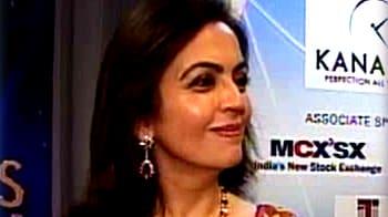 Video : Education has always been an area of passion: Nita Ambani