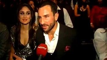 Video : Saif, Bebo cheer for Karan