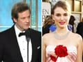 Golden Globes: Natalie, Firth bag top honours