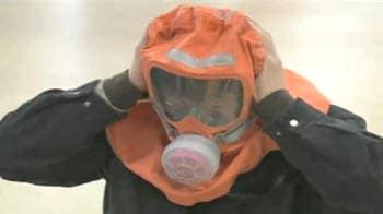 Video : South Korea prepares emergency shelters