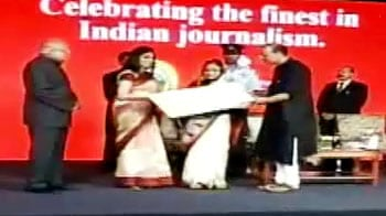 Video : NDTV's Shweta Rajpal Kohli is Business Journalist of the Year