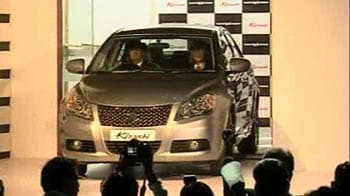 Video : Maruti launches Kizashi, but worried over margins