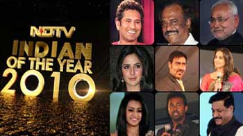 Video : NDTV's Indian of the Year awards 2010