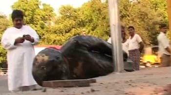 Video : Million March - Hyderabad's prized statues wrecked