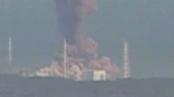 Video : Fire erupts again at Fukushima nuclear plant in Japan