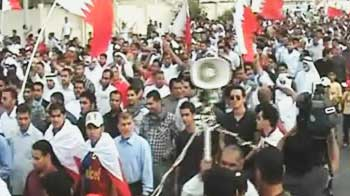 Video : Crackdown on protesters in Bahrain