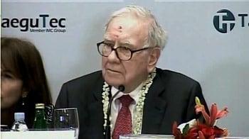 Video : Philanthropy more difficult than running a business: Buffett