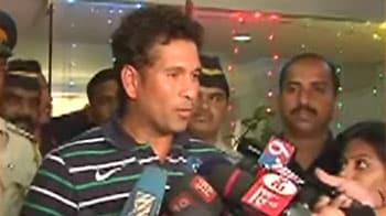 Video : Country's dream has come true: Sachin Tendulkar