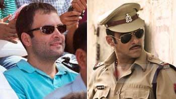 Video : Rahul Gandhi switches from SRK to Dabangg camp