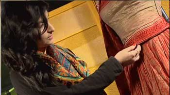 Video : Shruti's dream wedding lehenga