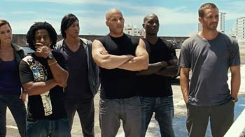 Breathtaking stunts: Fast Five