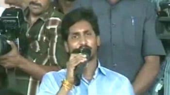 Video : Jagan tremors in Hyderabad