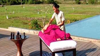 Video : A spectacular spa in Goa