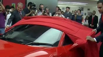Video : Ferrari vrooms into India, price starts from Rs 2.2 crore