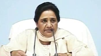Video : UP rape horrors: Mayawati slams Opposition for 'politicising' incidents