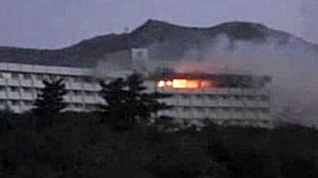 Video : The seconds that followed the 5-star hotel attack in Kabul