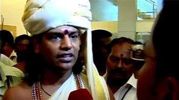 Video : Sex tape footage aired by Sun TV doctored: Nithyananda