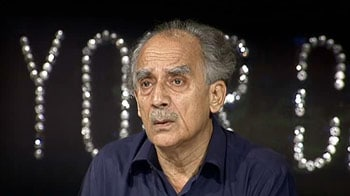 Video : Arun Shourie hits out at JPC chief Chacko