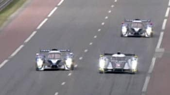 Video : Nerves and drama at Le Mans