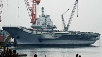 Video : China's first aircraft carrier begins sea trials