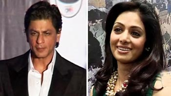 Video : SRK's airport woes, Sridevi's unexpected guests