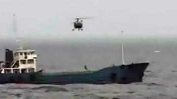 Video : Indian Navy foils piracy bid, rescues MV Nafis-1