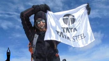 Video : Oldest woman to climb Mount Everest