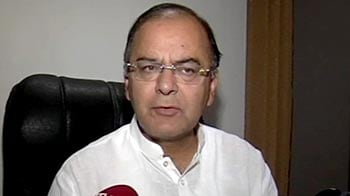 Video : Today, Parliament rose to a particular level: Jaitley