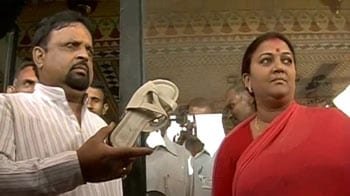 Video : In the shoe-for-a-shoe saga, a Rajasthan BJP MLA has got the boot