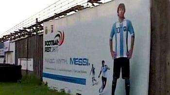 Video : Messi-mania grips Kolkata