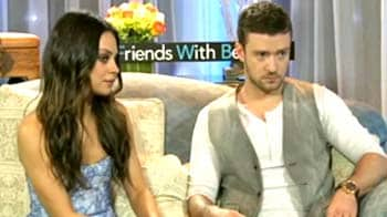 Friends, benefits, Mila and Justin