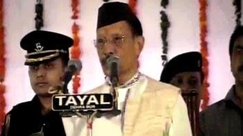 Video : BC Khanduri takes over as Uttarakhand Chief Minister
