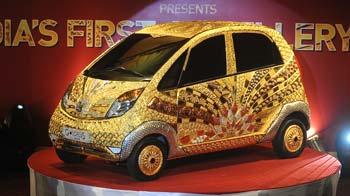 Video : A Nano car worth Rs 22 crore