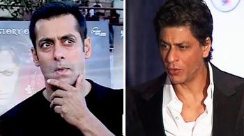 Video : Salman ignores SRK's good wishes