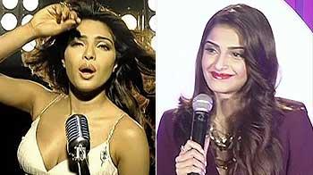 Video : Priyanka turns lyricist, Sonam has 'items' on her mind