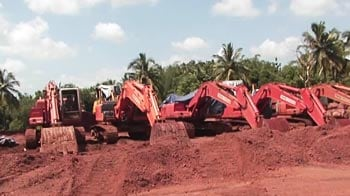 Video : Goa illegal mining: Speaker decides not to table report, opposition walks out