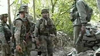 Video : Encounter in Ganderbal, 2 militants killed