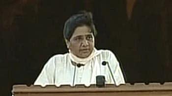 Video : Mayawati opens Rs 685-crore park