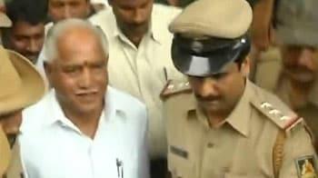 Video : Yeddyurappa surrenders in Lokayukta court, sent to jail till October 22