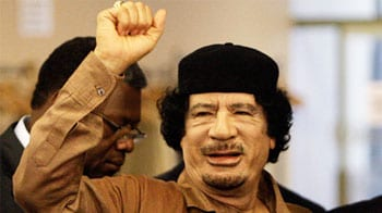 Video : The rise and fall of Gaddafi