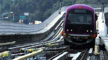 Video : Bangalore beams with pride over its metro