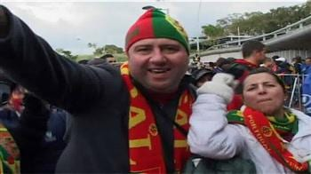 Video : Portugal fans ecstatic after 7-0 win