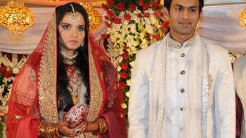 Video : Sania-Shoaib wedding reception