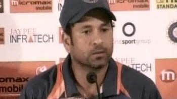 Video : Sachin dedicates record to people of India