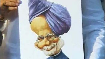 Video : Sonia, PM favourite with cartoonists