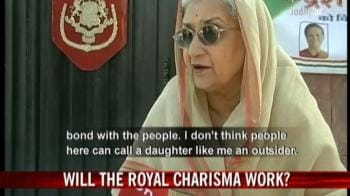 Video : Will the royal charisma work?