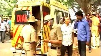 Video : Bangalore: 2 blasts near Chinnaswamy Stadium