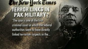 Video : Headley attended Pak military school