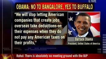 Video : Say no to Bangalore, yes to Buffalo: Obama