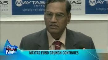 Video : Maytas Infra hopes for turnaround